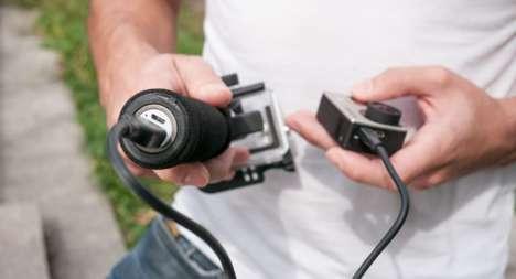 Blur-Reducing Camera Rigs