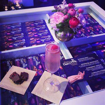 Relaxing Chocolate Bar Pop-Ups - The Dairy Milk Medley Lounge Offers Chocolate and Beauty Treatments
