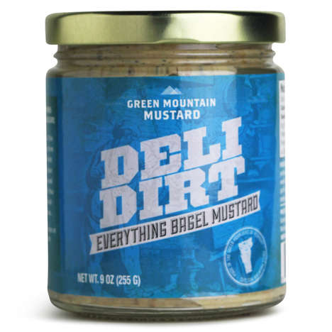 Everything Bagel Mustards - Deli Dirt is an Everything Bagel Mustard Blend by Green Mountain