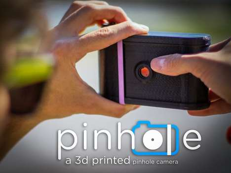 3D-Printed Pinhole Cameras - This 3D-Printed Camera Brings a New Perspective to Old Photography
