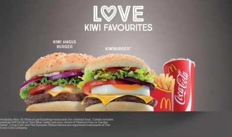 New Zealand-Themed Burgers