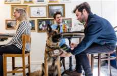 Canine-Staffed Pop-Ups - The Kronenbourg 1664 Pop-Up Bar is Entirely Staffed by Dogs