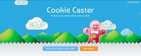 3D-Printed Cookie Cutters - The CookieCaster Platform Helps Users Create Custom Cookie Cutters