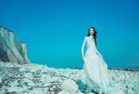 Scenic Couture Editorials - Erik Madigan Heck's 'Always and Forever' Story Highlights Natural Scenes