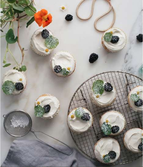 Chamomile-Frosted Desserts