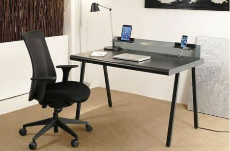 Hidden Function Desks - The NIK Desk's Hidden Features Revolutionize Ordinary Office Furniture