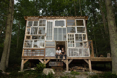 Repurposed Window Retreats