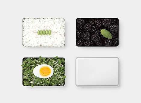 Minimalist Adult Lunch Boxes - THE* Lunch Box Provides a Lightweight Anodized Design for Portability