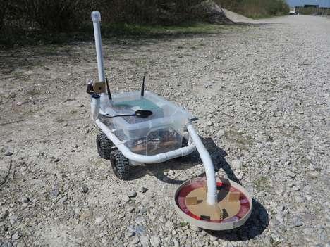 DIY Metal Detector Robots