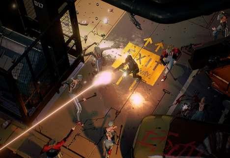 Cyberpunk Shooter Games