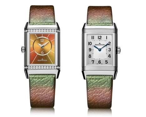 Two-Faced Timepieces - The 'Reverso' Watch Collection Boasts Reversible Designs