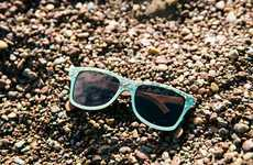 Sustainable Seashell Sunglasses