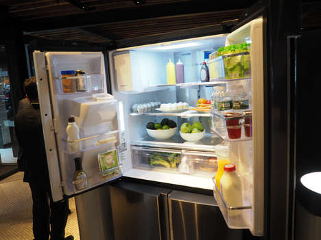 Family-Friendly Smart Fridges