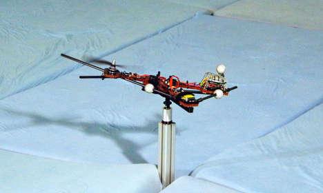 Single-Rotor Drones