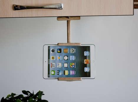 Kitchenette Tablet Mounts