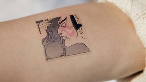 Allergy-Detecting Temporary Tattoos - A Restaurant in Japan Tests Foreigners Reaction to Buckwheat