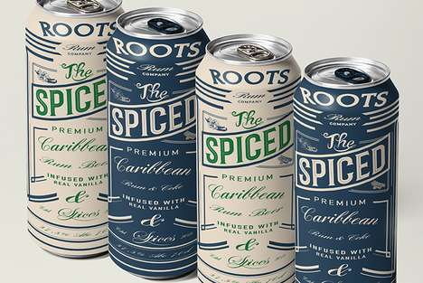 Storytelling Beer Branding - Roots Rum Beer Embraces a Vintage Design to Celebrate Its History