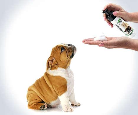 Waterless Deodorizing Pet Shampoos