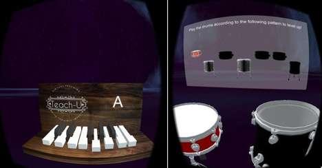 Virtual Reality Music Lessons