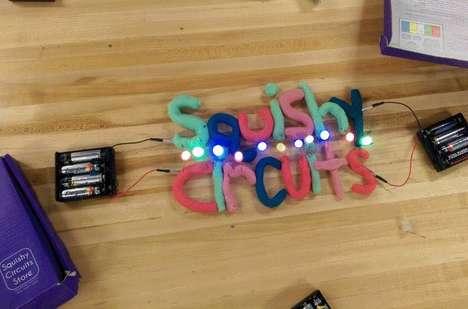 Informative Electric Circuit Games