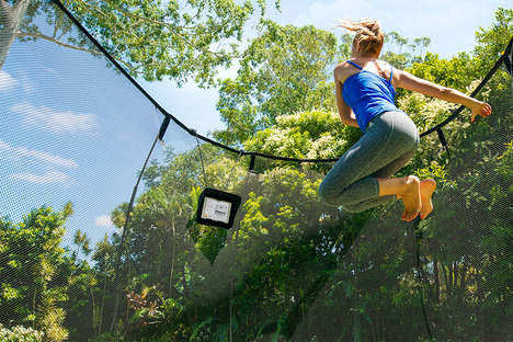 Activity-Encouraging Trampolines - The Springfree Trampoline Encourages Kids to Get More Exercise
