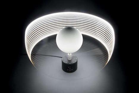 Conceptual Moonlight Lamps