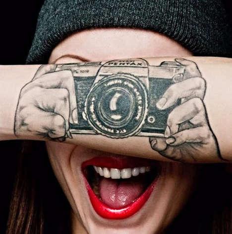 Temporary Tattoo Inks