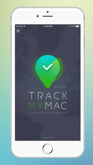 Laptop Anti-Theft Apps - Track My Mac Helps to Locate and Lock a Missing Laptop