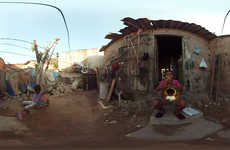 "Charitable VR Campaigns - ""A Walk In Their Shoes"" Shows Toms Customers the Impact They Have"
