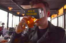VR Libation Goggles - The 'BEE-R GOGGLES' Provide Beer Lovers with an Immersive Experience