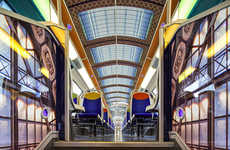 Impressionist Art Train Rides - The SNCF x 3M Brings Some Culture to People's Everyday Commute