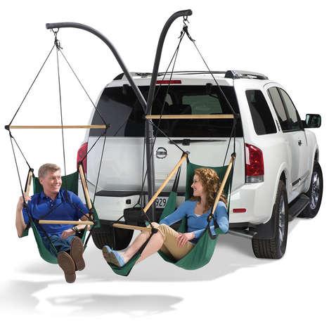 Vehicular Hammock Seats