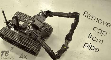Bomb-Diffusing Robots