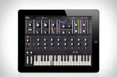 Virtual Synthesizer Apps - The Moog Model 15 App Allows Digital Use of the Analog Instrument