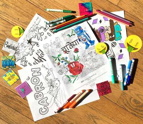 Curse Word Coloring Books