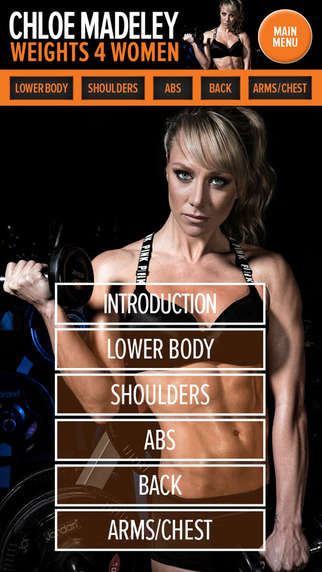 Female-Focused Weightlifting Apps - Chloey Madeley's New Weightlifting App Helps Women Tone Up