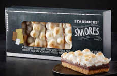 Coffee Shop-Branded S'mores - The New S'mores Bars from Starbucks are Designed to Appeal to Kids