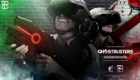 Immersive VR Theme Parks