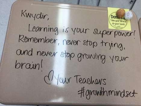Inspirational Desk Messages