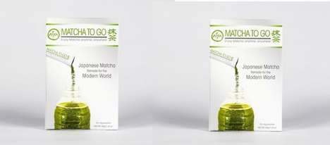 Portable Matcha Packets