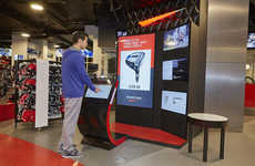 High-Tech Sport Shops - Sport Chek's Flagship Sports Retail Store in Vancouver Embraces Technology