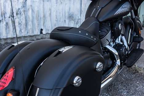 Blackened Performance Motorbikes - This New Motorbike Features An All-Encompassing Black Paint Job