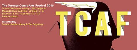 Celebratory Comic Book Festivals