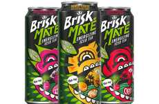 Energizing Iced Teas - Brisk's 'Brisk Mate' Iced Tea is Made with Energizing Yerba Mate