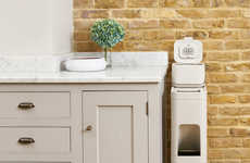 Slender Waste Organizers - The Joseph Joseph 'Stack' Waste Bin System Helps Declutter Kitchens