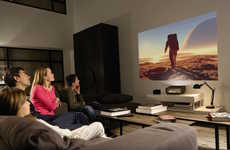 Short-Range Home Theater Projectors - The Philips Screeneo Casts a Huge Image Even Close Up