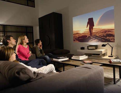 Short-Range Home Theater Projectors