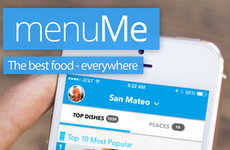 Pictorial Menu Apps - The MenuMe App Converts Restaurant Menu Text into Real Pictures of Food
