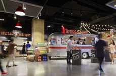 Market-Inspired Food Halls - eMart's 'Grocerant' is Styled Like a Vibrant Outdoor Marketplace