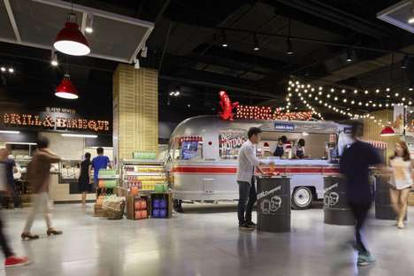 Market-Inspired Food Halls